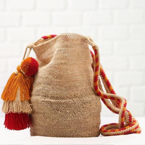 Juana Natural Handmade Fique Bag