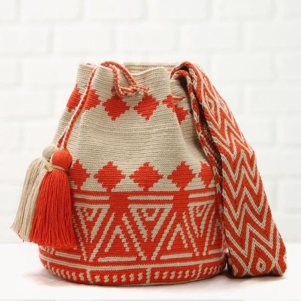 Chila Handamde Pobaldo Bag in Orange