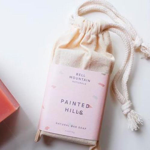 Natural Luxurious Painted Hills Soap - 100% Natural - Basics and Organics