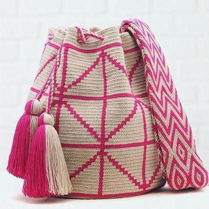 Chila handmade Pobaldo Bag in Pink