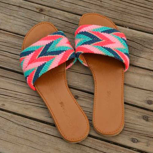Tere Handmade C Straight Sandals - Basics and Organics