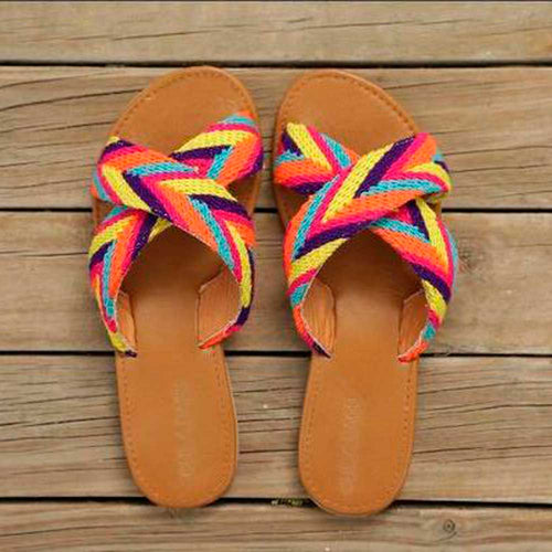 Tere Handmade D Cross Sandals - Basics and Organics