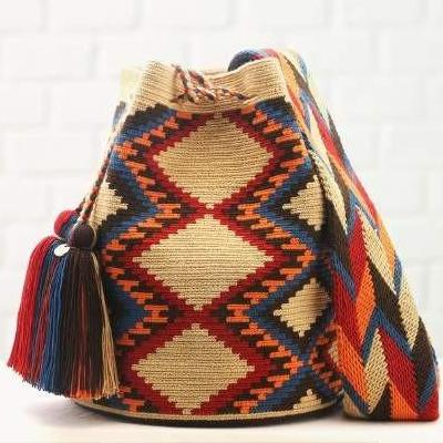 Chila Topacio Bag Handmade in Colombia - Basics and Organics