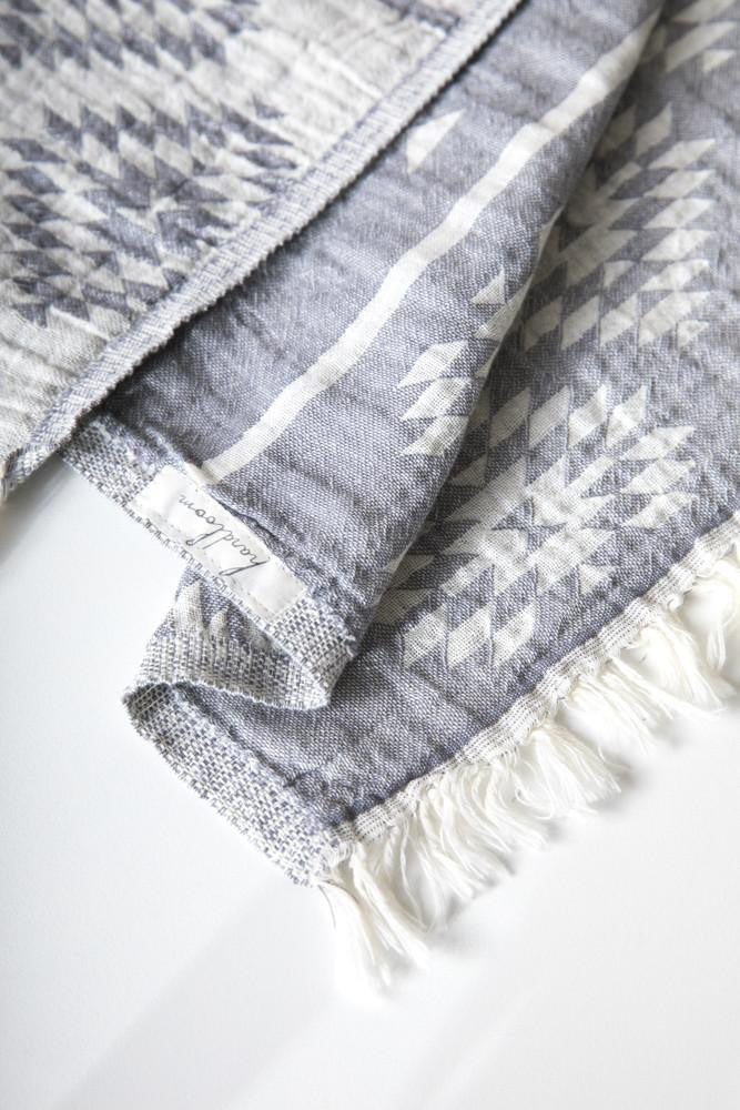Turkish Handwoven Tribal Towel - Basics and Organics