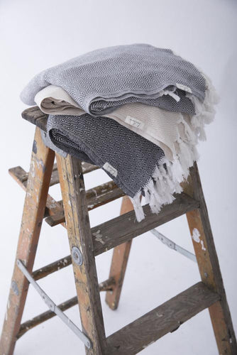 Turkish Handwoven Traveler Blanket - Basics and Organics