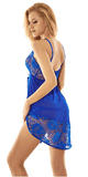 AdoreJoy Women's Blue Sexy Babydoll Lingerie Set