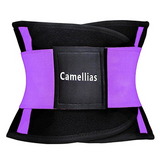 Camellias Women's Purple Waist Trainer Belt - Body Shaper Belt