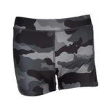 Image Fit Women's Gray Camo Fit Shorts