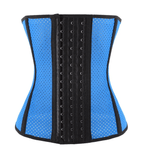 Bare Beauty Women's Blue Underbust Breathable Waist Trainer