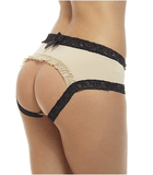 Sofishie Ruffle Back Apricot Midnight Bow-Tie Panties