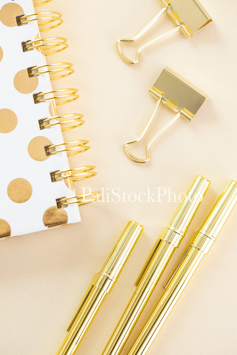 Blush & Gold Desk Collection - 13