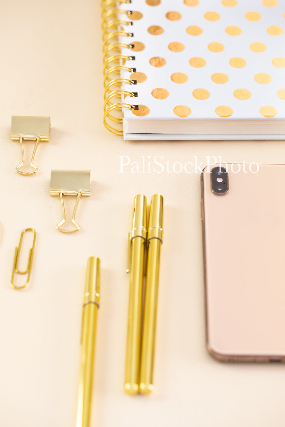 Blush & Gold Desk Collection - 15