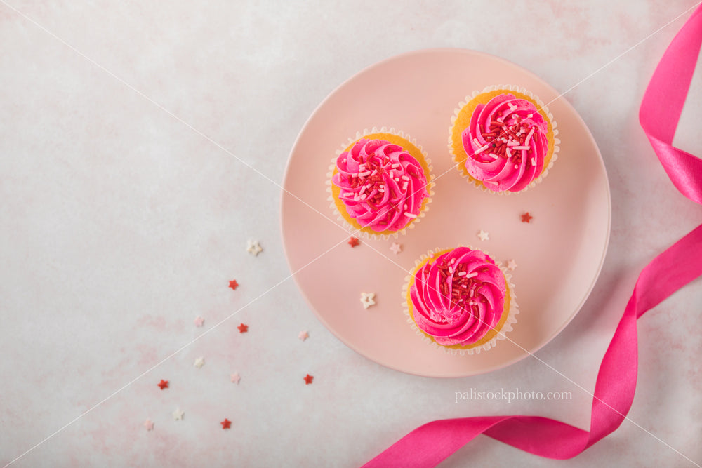 Valentine's Day Celebration with Cupcakes