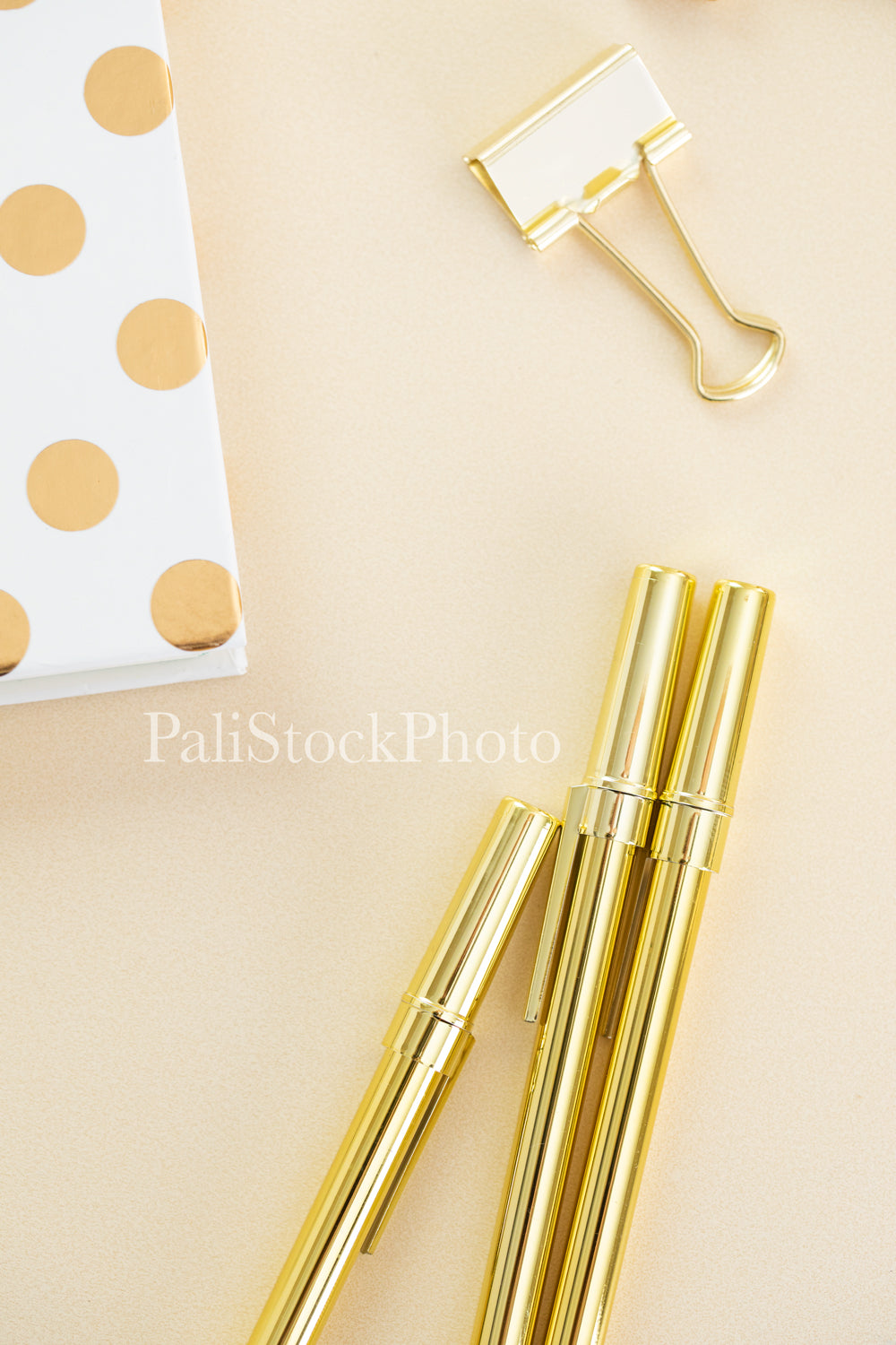 Blush & Gold Desk Collection - 12