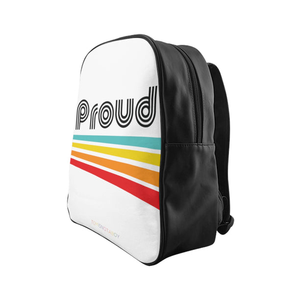 Proud Faux Leather Backpack