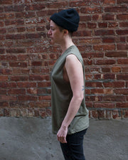 Equilibrium - Olive Muscle Tank