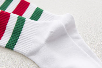 Italian or Mexican Striped Socks