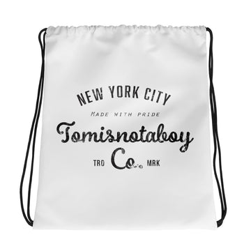Tomisnotaboy NYC Drawstring Bag