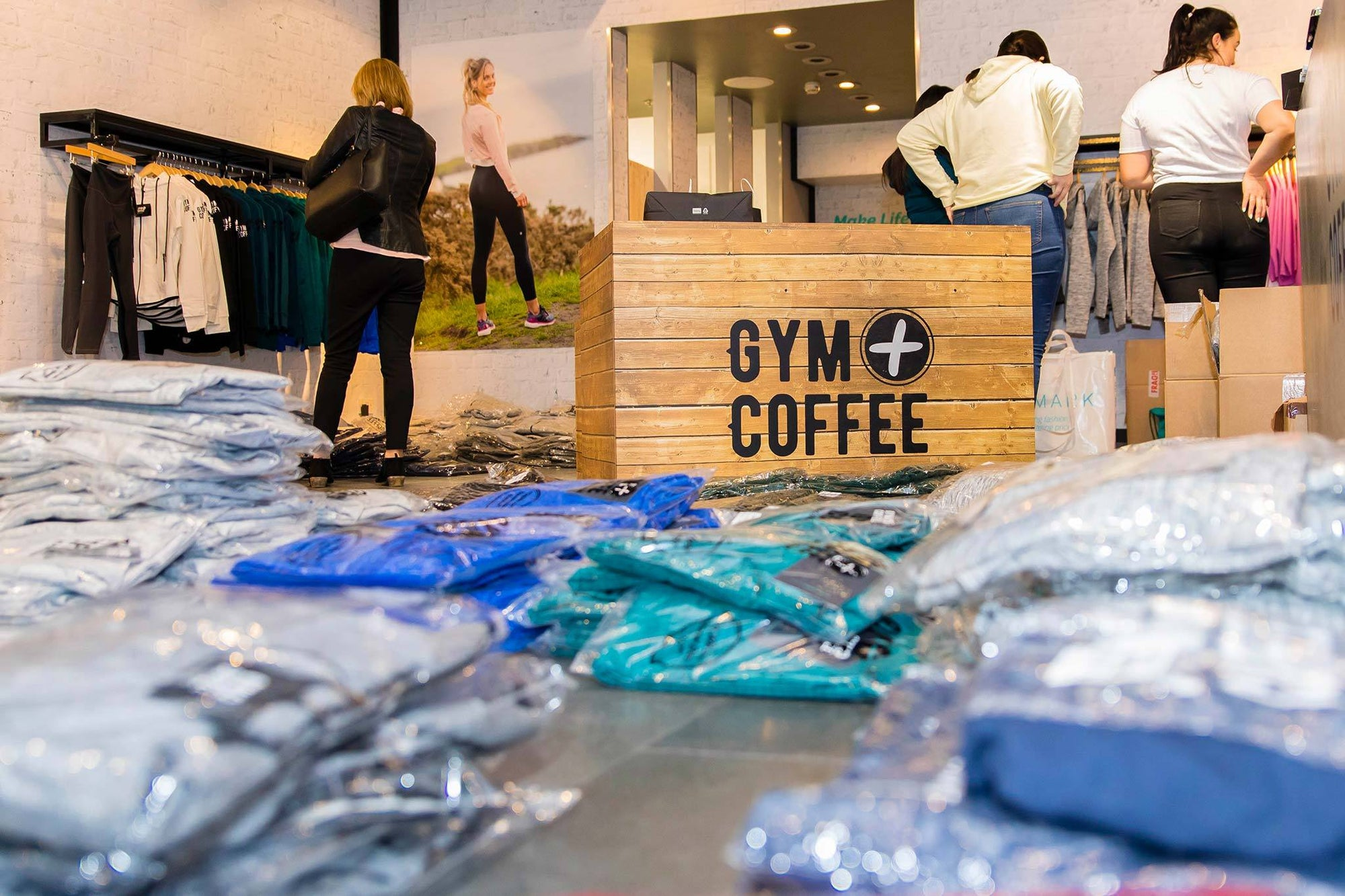 Gym+Coffee Store Opening Countdown!!