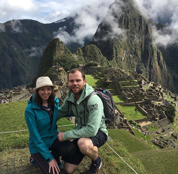 Hoodies in the Wild Pic at Machu Picchu, Peru - Seven Modern Wonder of the World