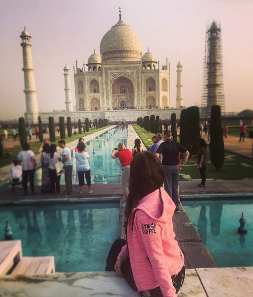 Hoodies in the Wild Pic at The Taj Mahal in India - One of Seven Modern Wonder of the World