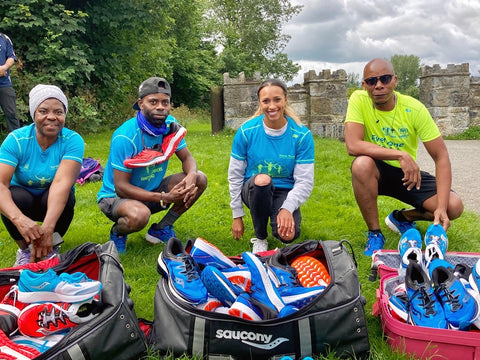 Nadia-Power-donates-40-pairs-shoes-to-Sanctuary-Runners