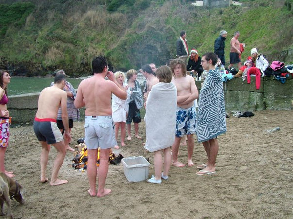 Balscadden Bay in Howth Christmas Day Swim MeetUp