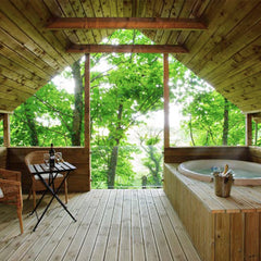 Glamping Treehouses in WestCork by Cottages for Couples