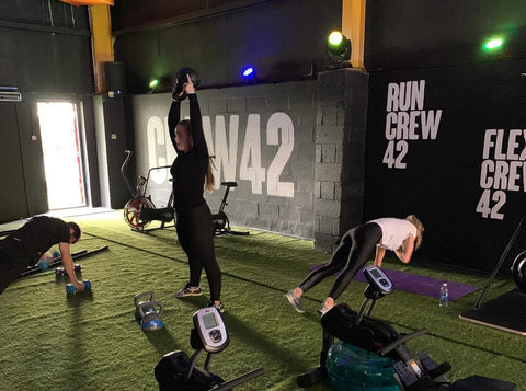 Join the Crew 42 and make every visit to the gym a great one!