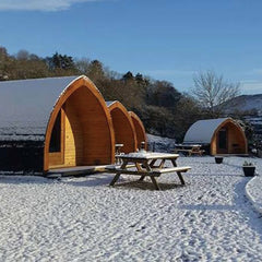 East Coast Adventure Glamping Pods in Northern Ireland