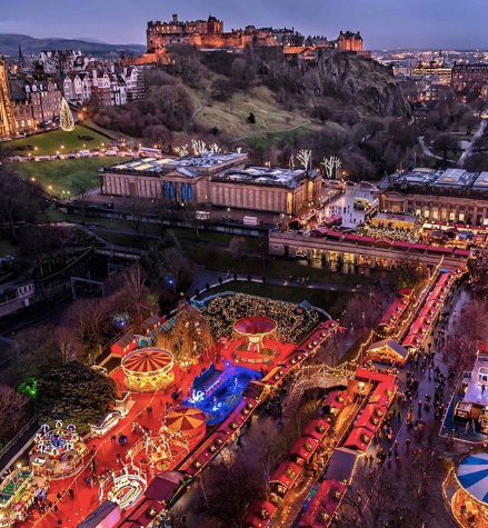 Edinburgh Christmas Market 2019 - Best UK Christmas Markets!
