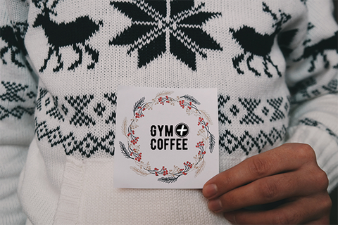 Gym+Coffee Christmas Gift Card