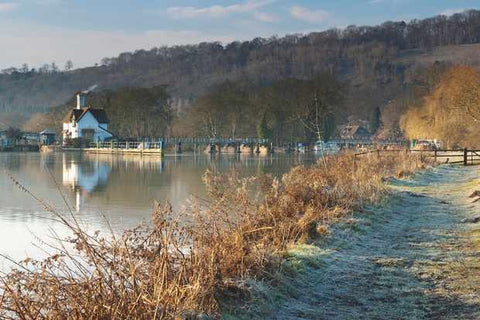Beginner Walking Trails Near London - Goring to Pangbourne on River Thames