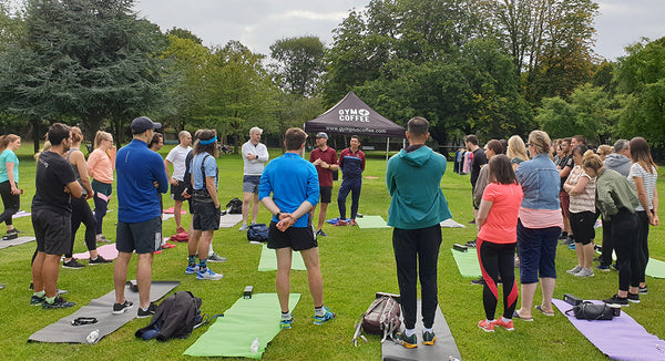 Gym+Coffee X Google HQ Dublin Health and Fitness Week Stretch Event
