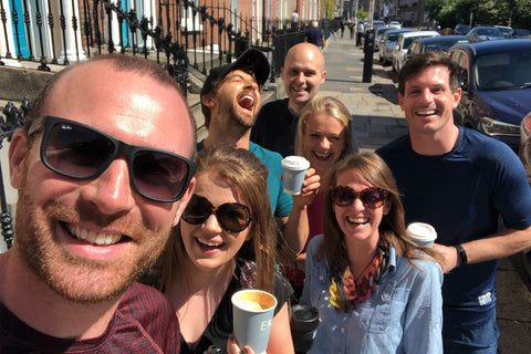 Gym+Coffee Office Team Wacky Wednesday Coffee Run