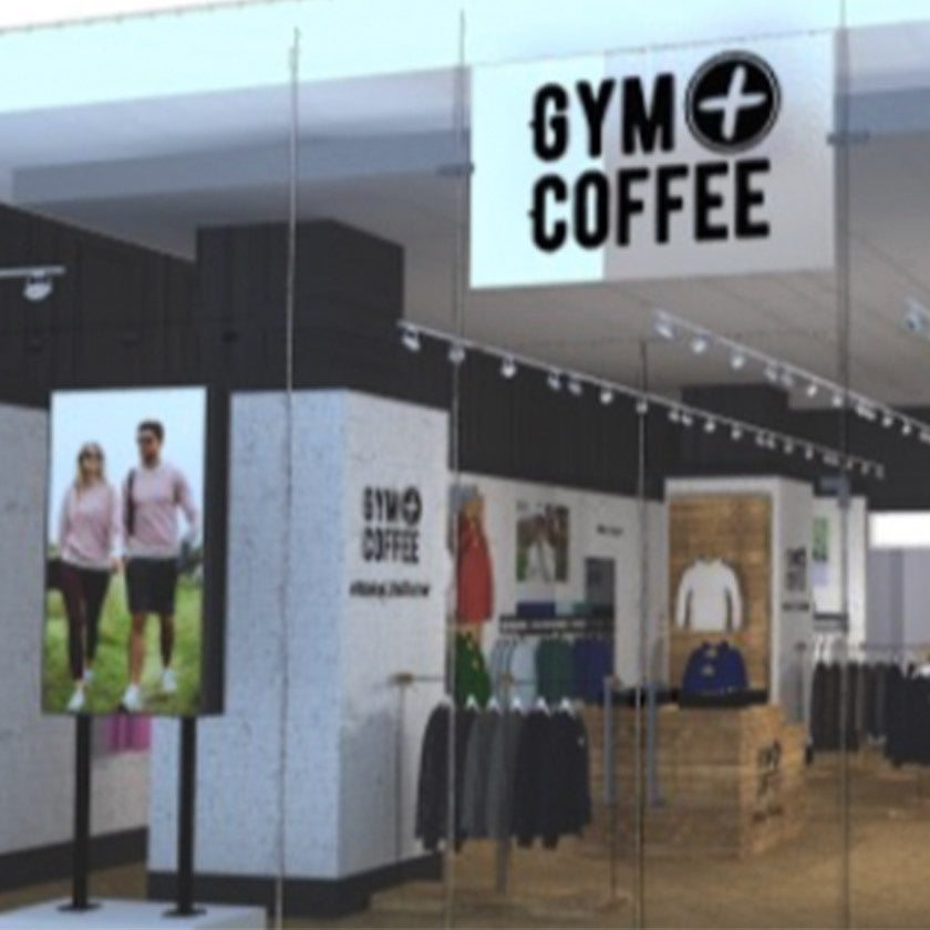 Gym+Coffee Activewear London Pop-Up Store at Westfield White City
