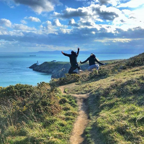 Howth Head Scenic Autumn Walk in Dublin