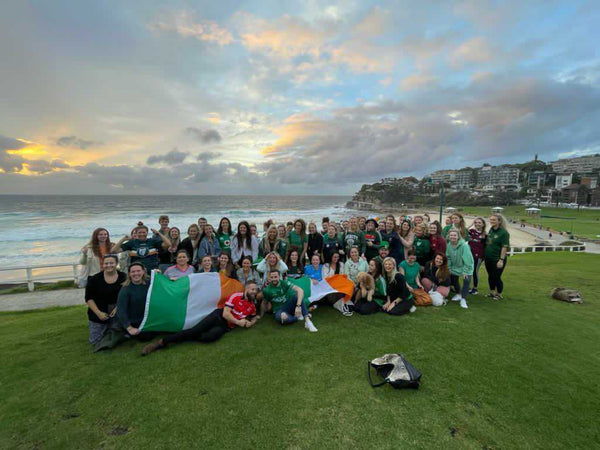 Irish Community in Sydney A County Down Under at Sunrise on St. Patrick's Day