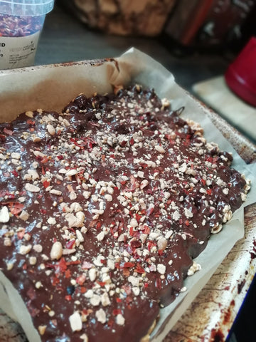 Chocolate Chilli Popcorn Bar Recipe