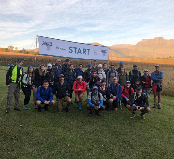 Group Picture of Laureus Sport for Good South Africa Trek