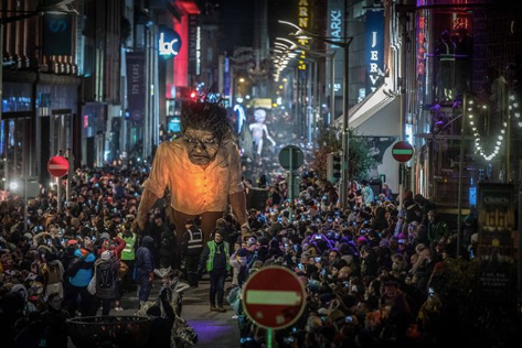 Macnas Galway Halloween Festival Parade 2019