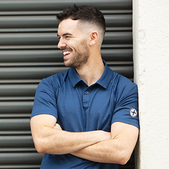 Mens Nacy Marco Polo Tee by Gym+Coffee