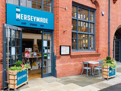 The unique and exciting art café, MerseyMade, in Liverpool