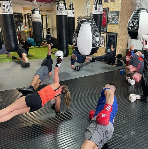 Varied workouts including sparring/boxercise classes at No Limits Strength & Conditioning