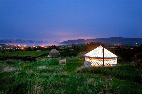 Yurts that make you go ooooh! Cosy camping brought to you in style in Portsalon