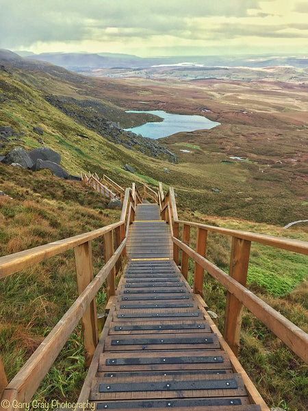 Stairway To Heaven Walk in Fermanagh, Ireland