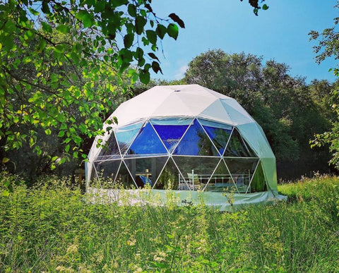 Choose your dome of choice at the Teapot Lane glamping destination in Tawley, Co. Leitrim