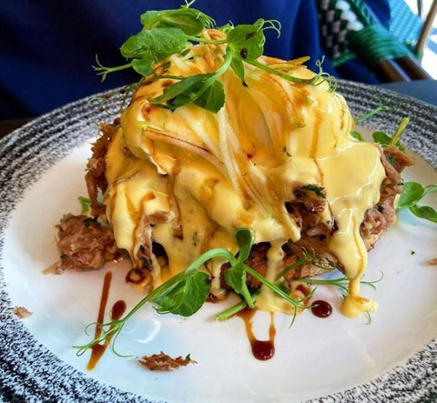 Eggs Benedict from The Brunch Club, Liverpool