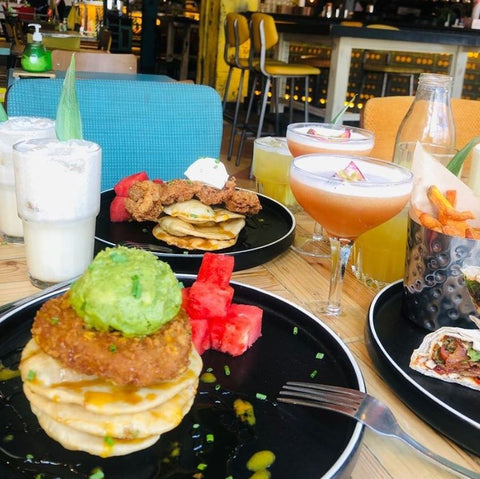 Famous for their Bottomless Brunch, Turtle Bay in Liverpool is ideal for brunch with friends.