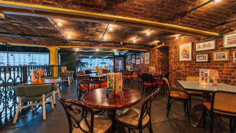 Latin-American style brunch hotspot in the centre of Liverpool